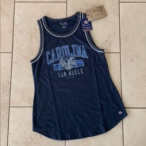 New Champion Carolina Tar Heels tank size M
